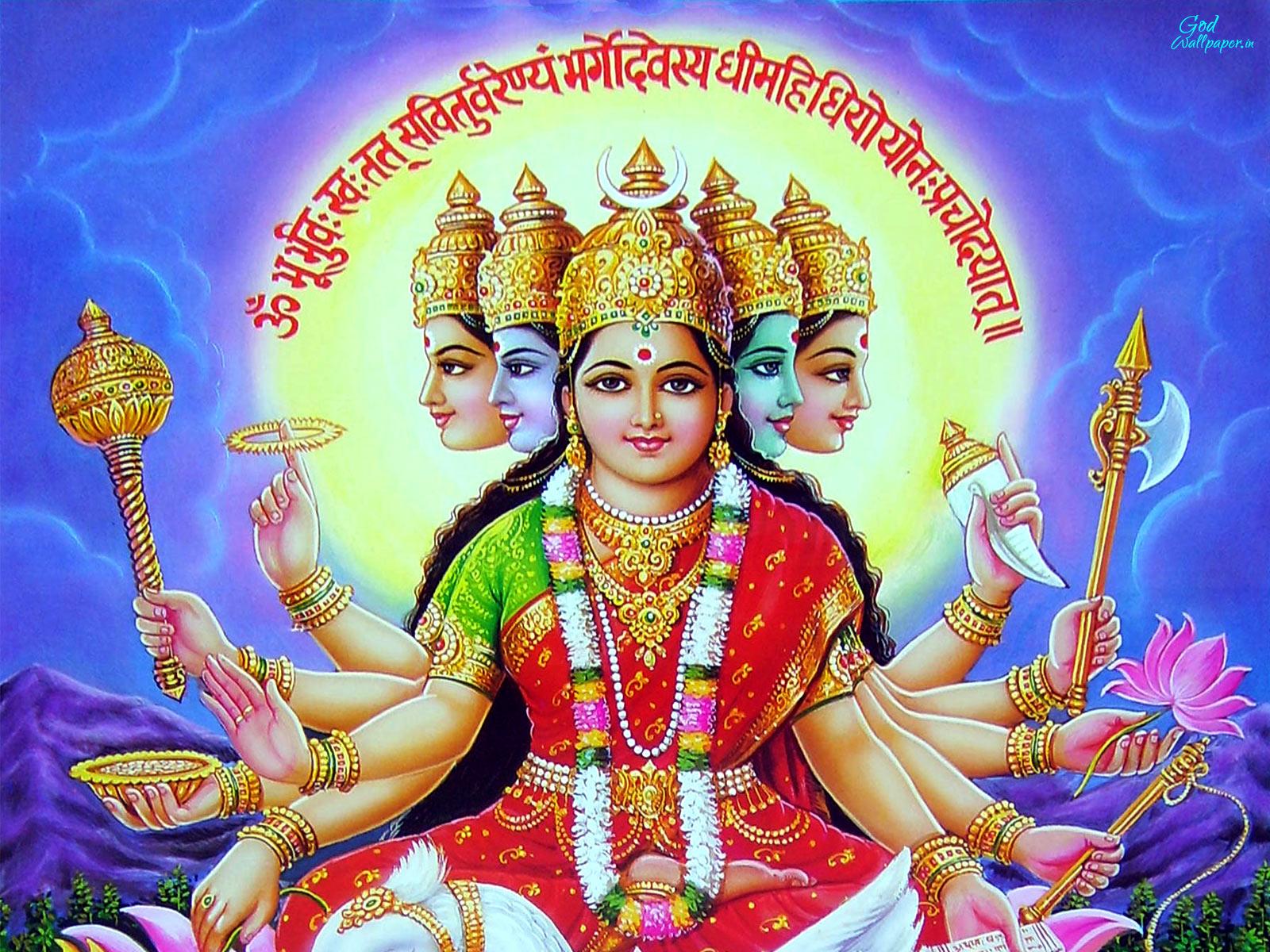 Download Gayatri mata pics