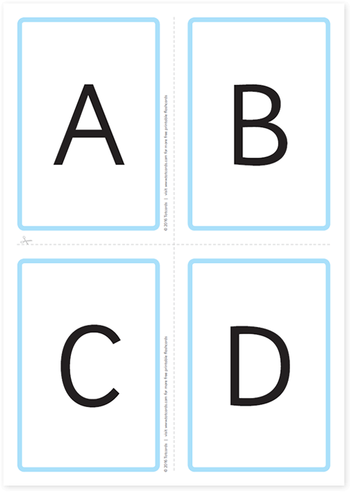 Free Line Art Converter : Printable alphabet flash cards download free