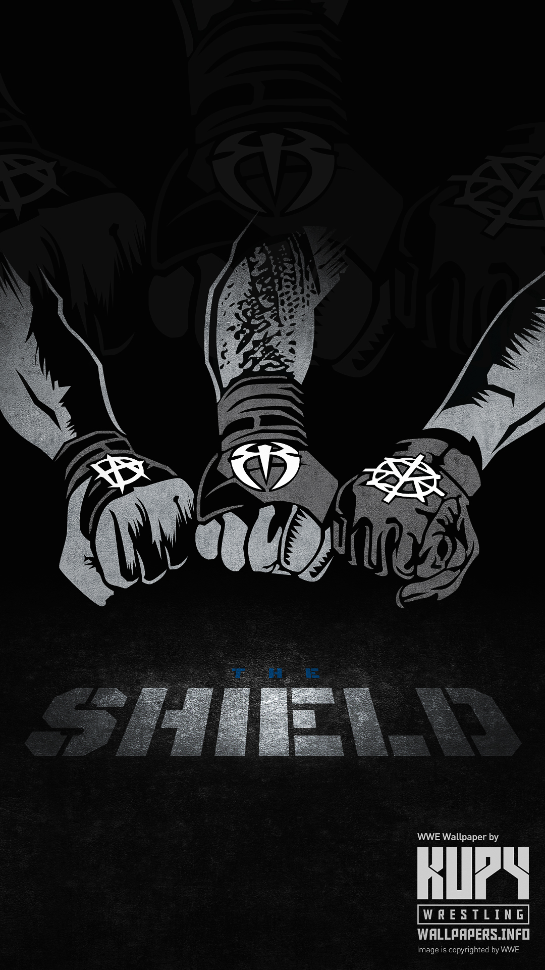 Download free printable graphics wallpaper posters - Download pictures of the shield wwe ...