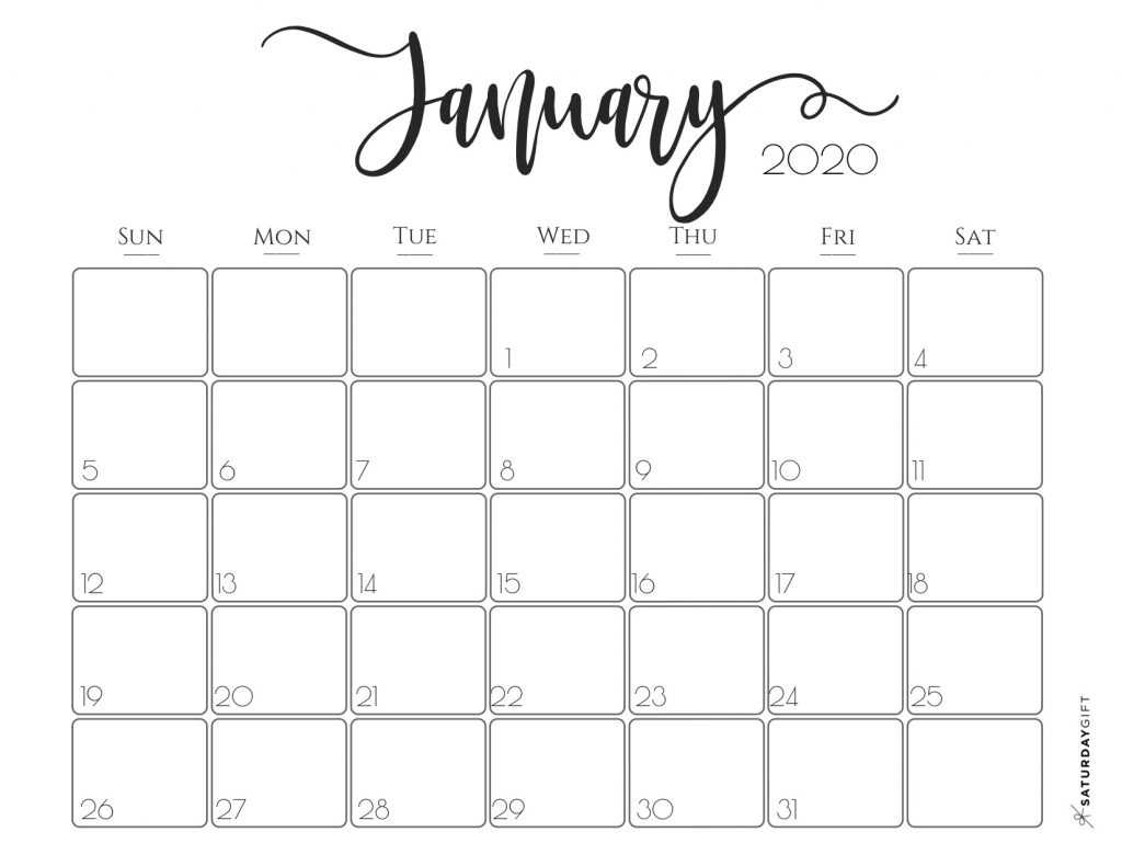 2020 Printable calendar posters images wallpapers free ...